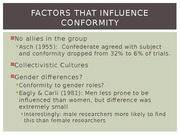 Chapter 8-Conformity part 2 BB_Notes