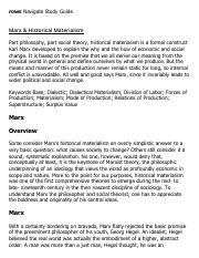 Marx & Historical Materialism Research Paper Starter - eNotes.pdf
