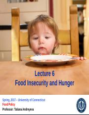 2_2 Thursday Lecture 6_FoodInsecurity