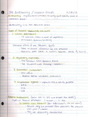 Lecture 16 Notes-The Bureaucracy:Interest Groups