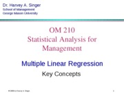 Section 12 Operation Management Statistics