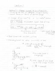 ECE 201 - Handnotes - Lecture 1 - F11