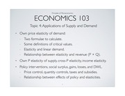 Econ103_ Applications of supply & demand