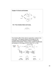 Chem 220b_Lecture Notes on Enols and Enolates