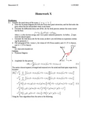 HW 10 problems/solutions