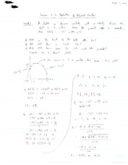 Applications of Polynomial Functions Note