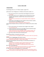 2112 Lecture 1 Study Guide