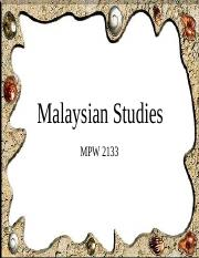 MPW 2133 - CH4 -- The Process of Nation Building