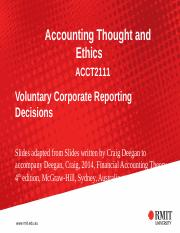 Voluntary Corporate Reporting Decisions-1.ppt