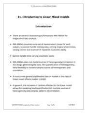 Note 11 -Intro-LMM