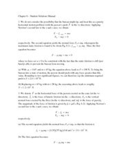 Chapter 6 Student Solution Manual