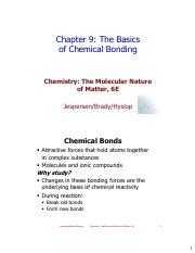 Chapter-9-Basics Chemical bonding