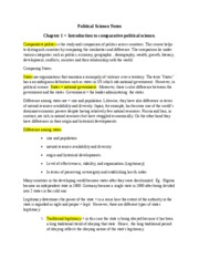 Political Science Notes chp 1