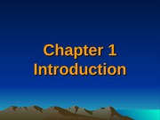 Luckey Chapter 1 Introduction