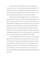 the vietnam war essay american ier is asking the dead french  1 pages world war i essay
