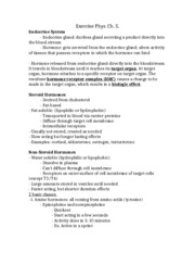 Exercise Phys. Ch. 5