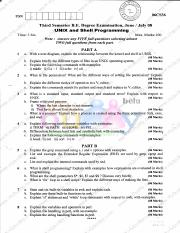(www.entrance-exam.net)-VTU, CSE, 3rd Sem - Unix and Shell Programming Sample Paper 4