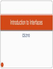 cs2110-section1-16-Introduction to Interfaces.pdf
