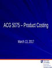 Class 3 - Product Costing.pptx