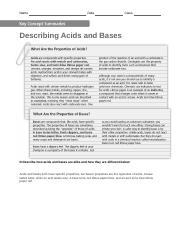 Acids and Bases Chapter 8 Lesson 3.doc