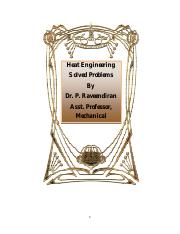 HE ALLUnits - Heat Engineering Solved Problems By Dr P