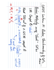 CH105 Lecture 19 Acids Bases Redox Continued