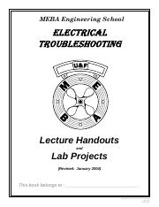 Elect. Troubleshooting Book