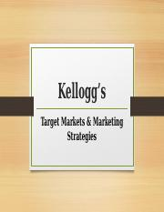 Kellogg Product and Marketing.pptx