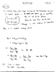 Thermal Physics Solutions CH 4-5 pg 54