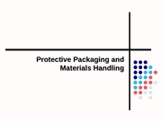 LSCM 360 - S08 WK 5 Packaging & Materials Management