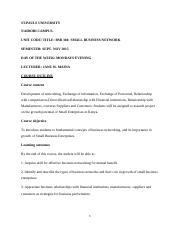 small business networking notes (combined).doc