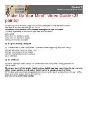 Make Up Your Mind Video assignment.docx