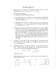 Phys 4050 Assignment 4, Test 1