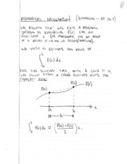 Lecture Notes 2.0 NumericalIntegration