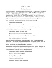 MGMT 344 term paper instructions fall 2014