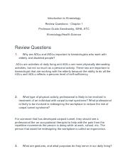 Introduction to Kinesiology- review questions 2.docx