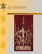 Age of Absolutism.ppt