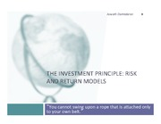 Risk and Return Models