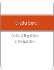 2384 Chapter 11 Conflict.ppt