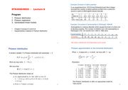 Poisson Regression Notes