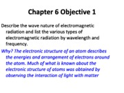 chem 151 ch 6 electronic structure of atoms