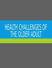 Health challenges of the older adult - posting.pptx