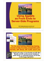 20-Servers-and-Applets