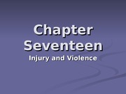 Chapter 17, Injury