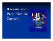 racisim in canada 1 slide per page