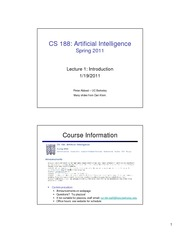 SP11 cs188 lecture 1 -- introduction 2PP