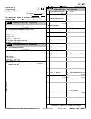 John Parsons - Premium Inc 2013 K-1 Fillable Tax Form - Tax Return Problem 12-1