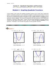 Module3_Graphing_Quadratic_Functions