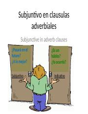 6A Subjunctive in Adverbial Clauses