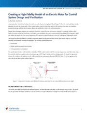 Creating a High-Fidelity Model of an Electric Motor for Control.pdf